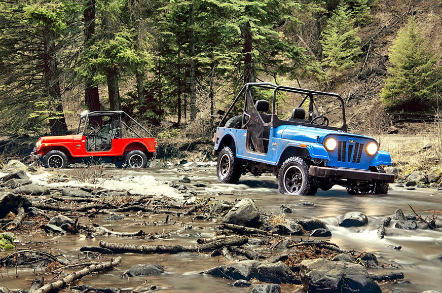 The Mahindra Roxor is the Turbodiesel Jeep of our Muddy Dreams