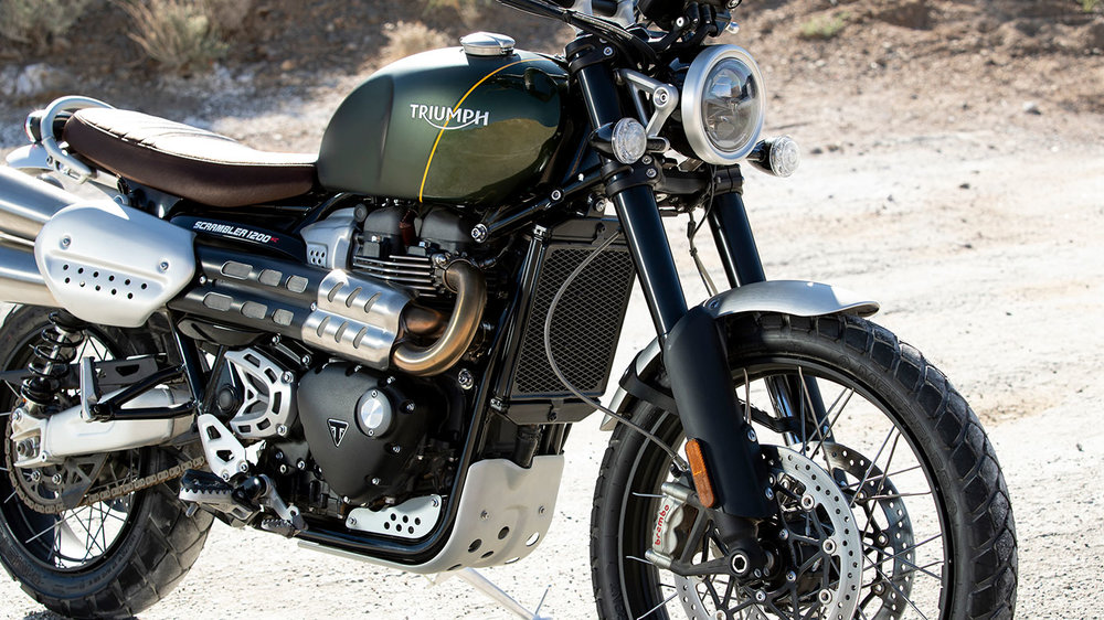 Triumph Scrambler 1200 XC: Road-Focused