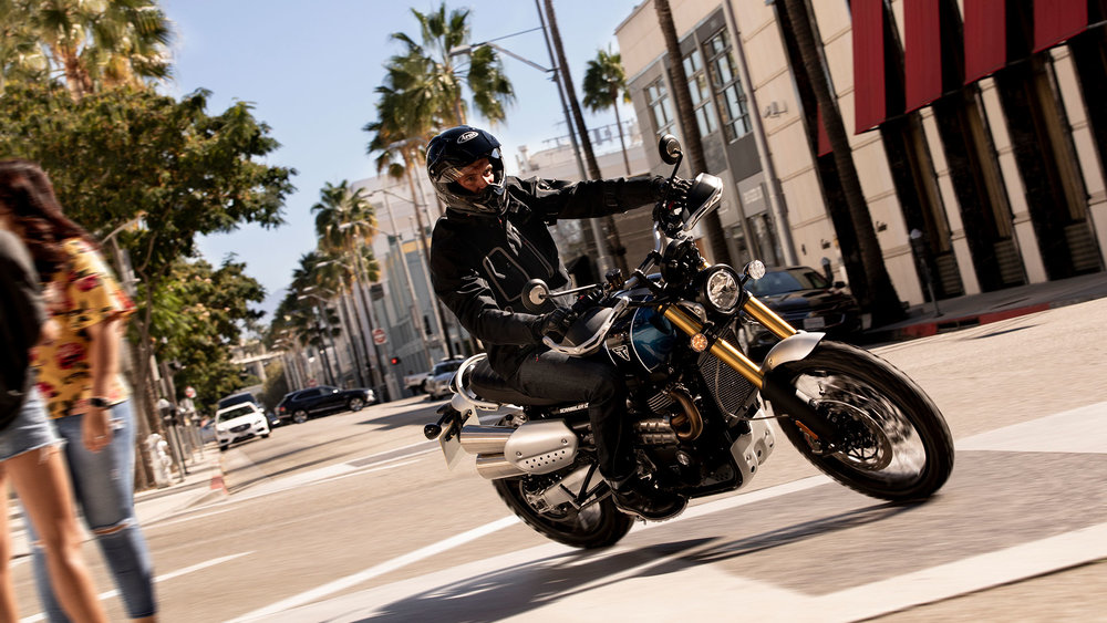 Triumph Scrambler 1200 XE: The Urban Jungle
