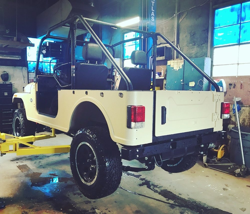 This Roxor is being prepped for bunny trail rentals in Moab. #notajeep Courtesy of @ travisbunch