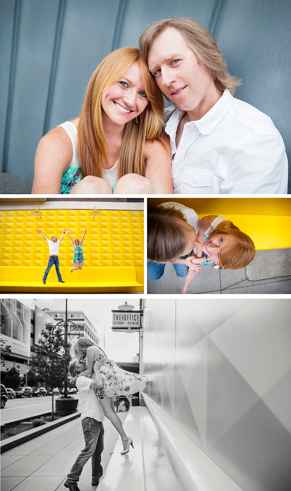 Downtown Denver Engagement Shoot