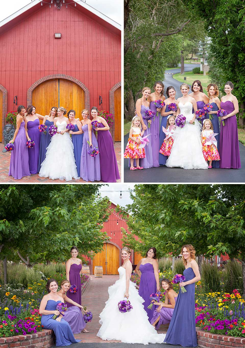 Crooked Willow Farms Bridesmaids
