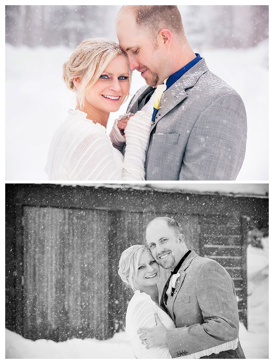 Winter Durango Colorado Wedding