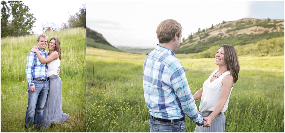 Roxborough State Park Engagement Shoot