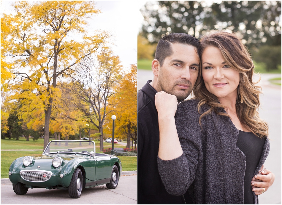 City Park Denver Engagement Shoot | Connie and Juan's Austin Healey Engagement Shoot_0001