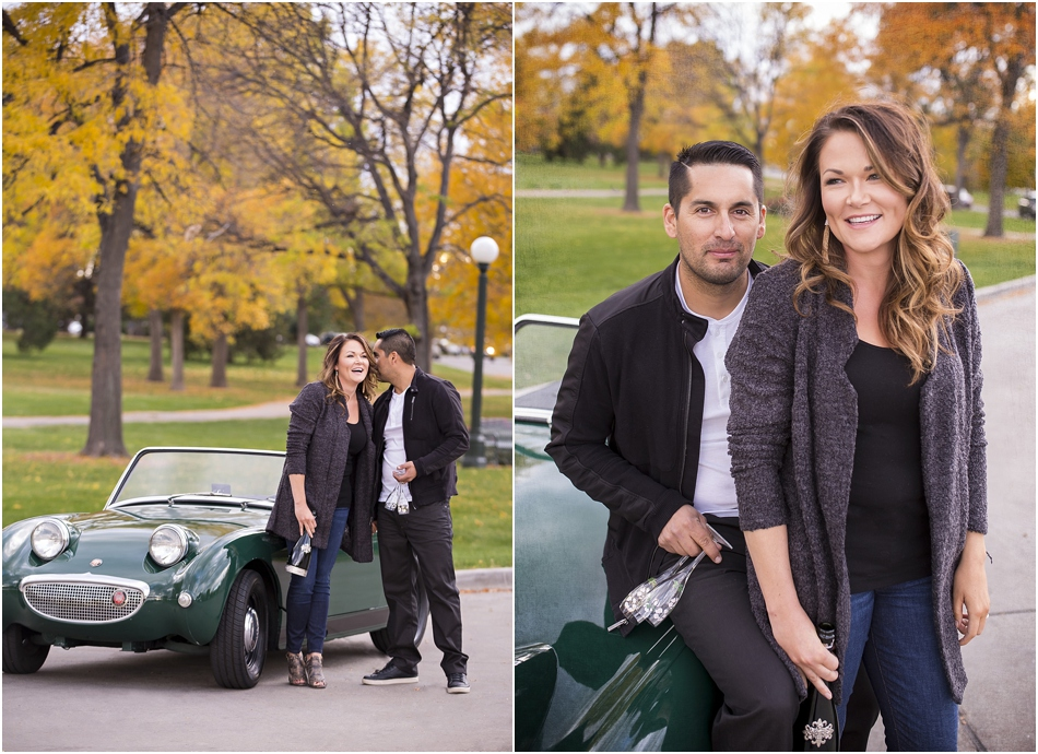 City Park Denver Engagement Shoot | Connie and Juan's Austin Healey Engagement Shoot_0004