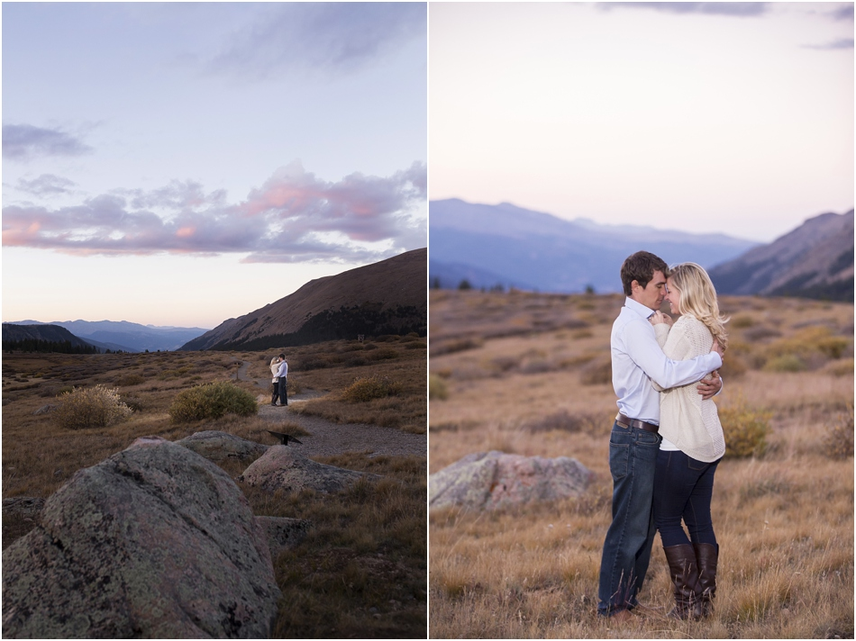 Fall Aspens Engagement Photos | Amy and Ben's Fall Mountain Engagement Session_0021