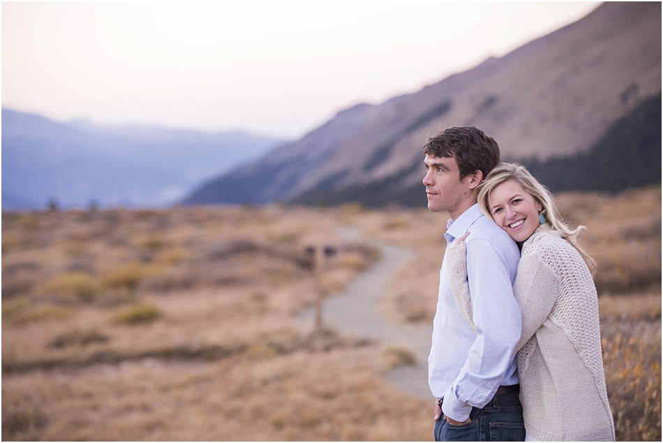 Fall Aspens Engagement Photos | Amy and Ben's Fall Mountain Engagement Session_0022
