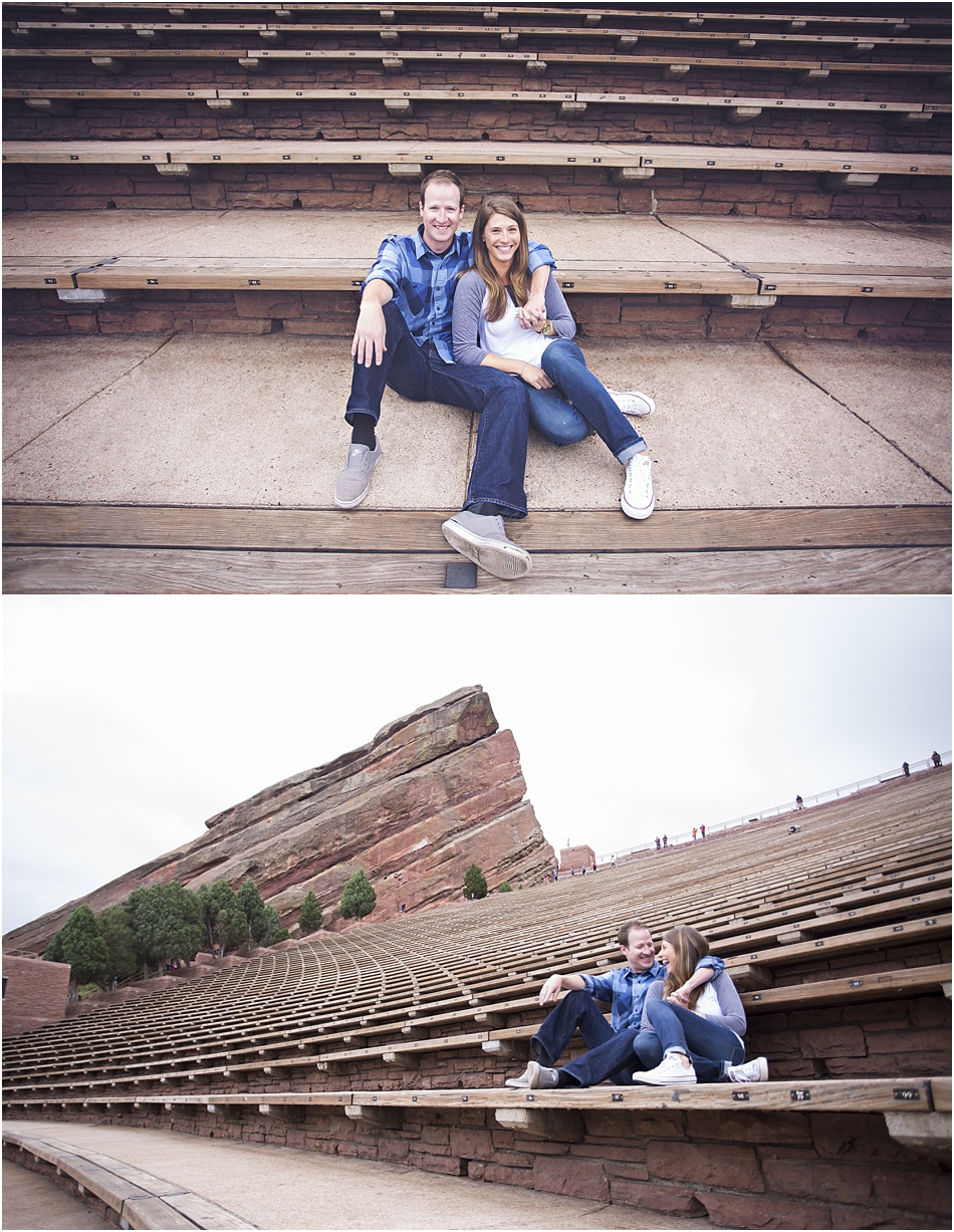 Red Rocks Amphitheatre Engagement Shoot