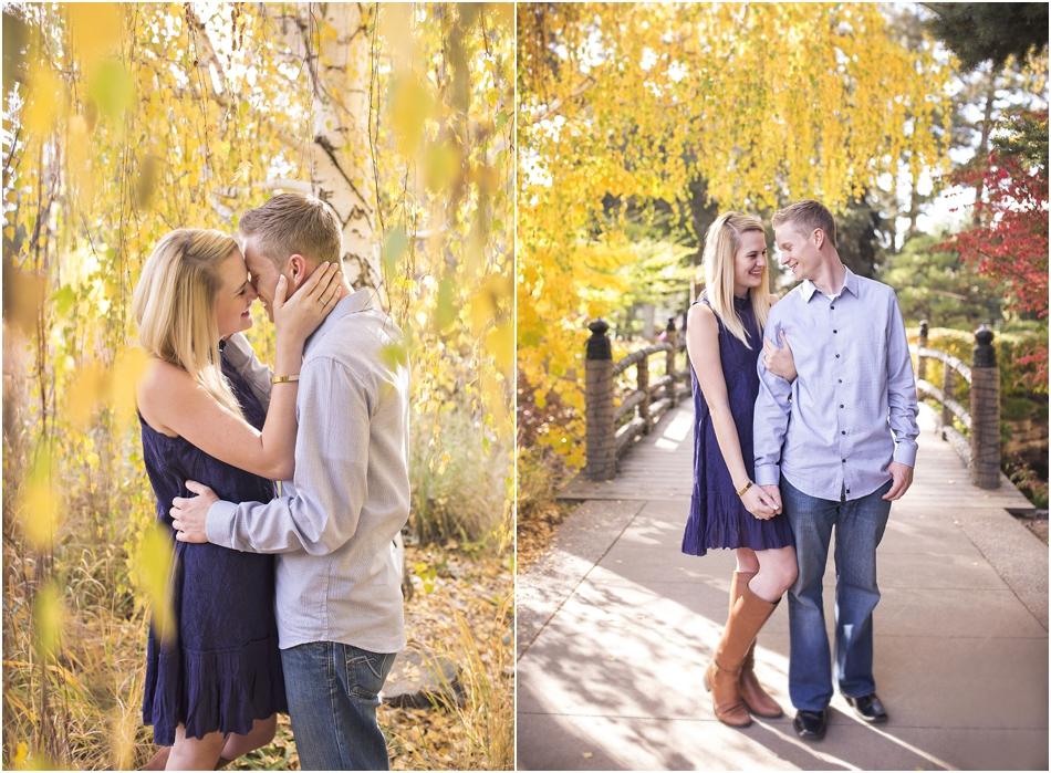 Denver Botanic Gardens | Chelsea and Kellen's Engagement Shoot_0001
