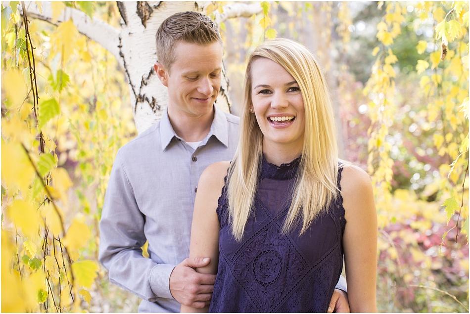 Denver Botanic Gardens | Chelsea and Kellen's Engagement Shoot_0002