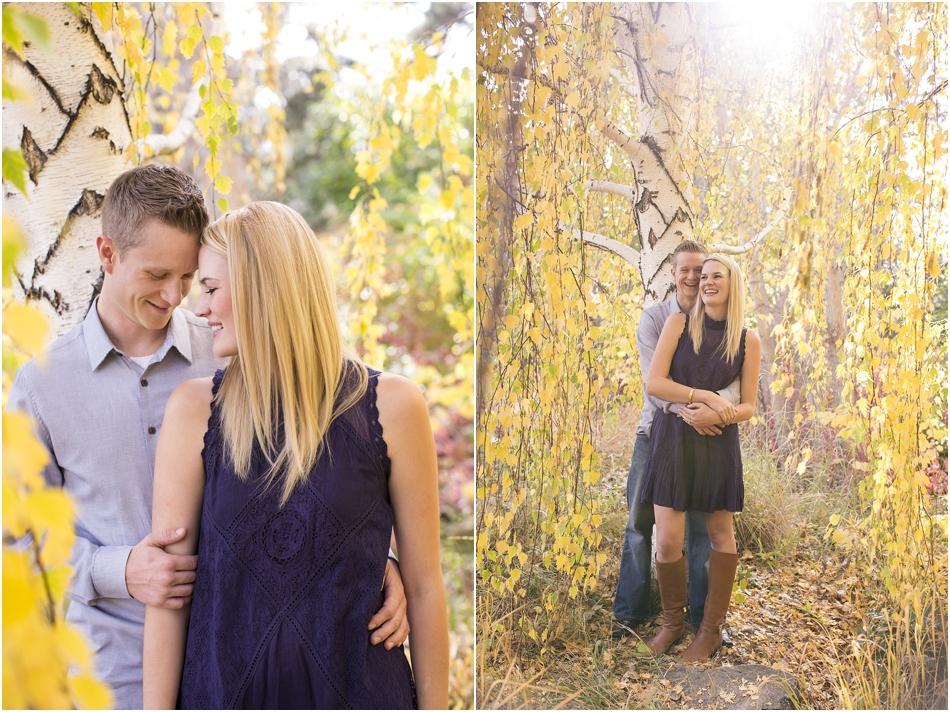 Denver Botanic Gardens | Chelsea and Kellen's Engagement Shoot_0003