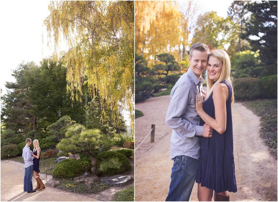 Denver Botanic Gardens | Chelsea and Kellen's Engagement Shoot_0004