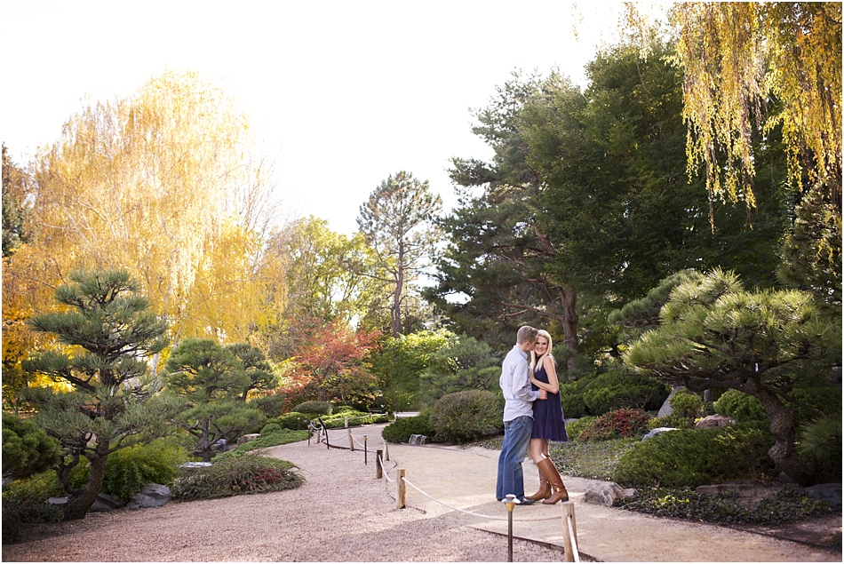 Denver Botanic Gardens | Chelsea and Kellen's Engagement Shoot_0005