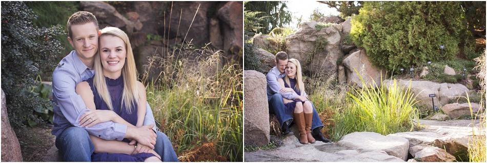 Denver Botanic Gardens | Chelsea and Kellen's Engagement Shoot_0007