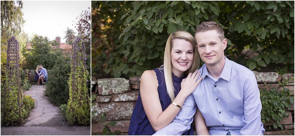 Denver Botanic Gardens | Chelsea and Kellen's Engagement Shoot_0009