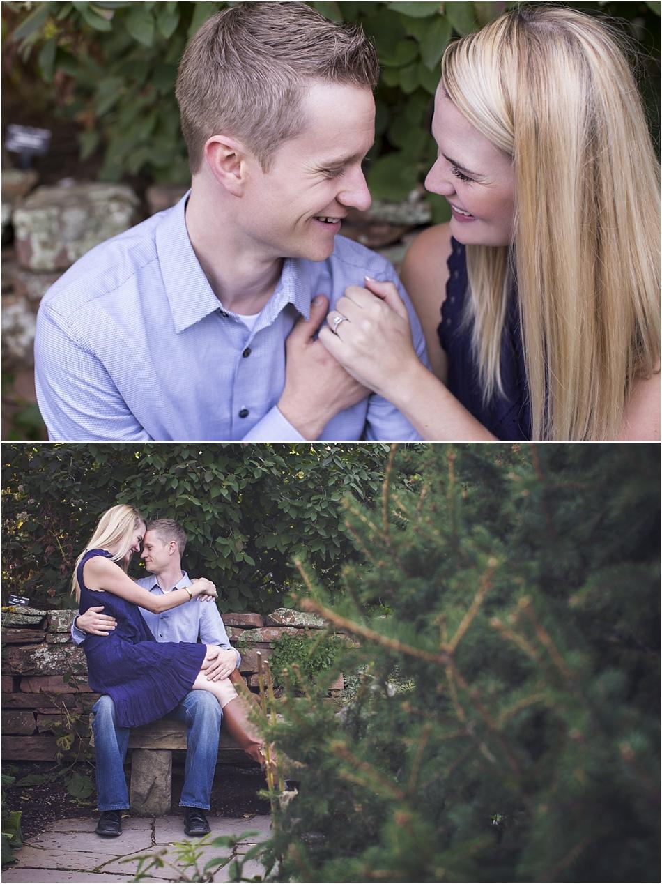 Denver Botanic Gardens | Chelsea and Kellen's Engagement Shoot_0010