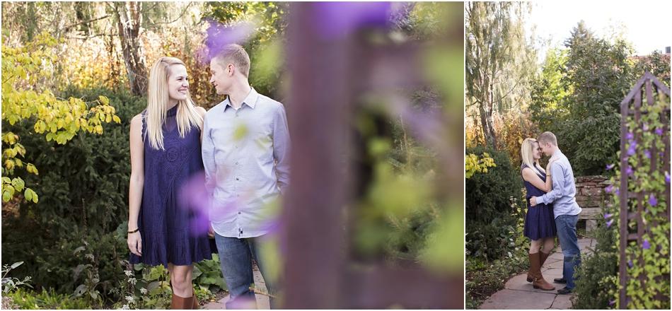Denver Botanic Gardens | Chelsea and Kellen's Engagement Shoot_0011