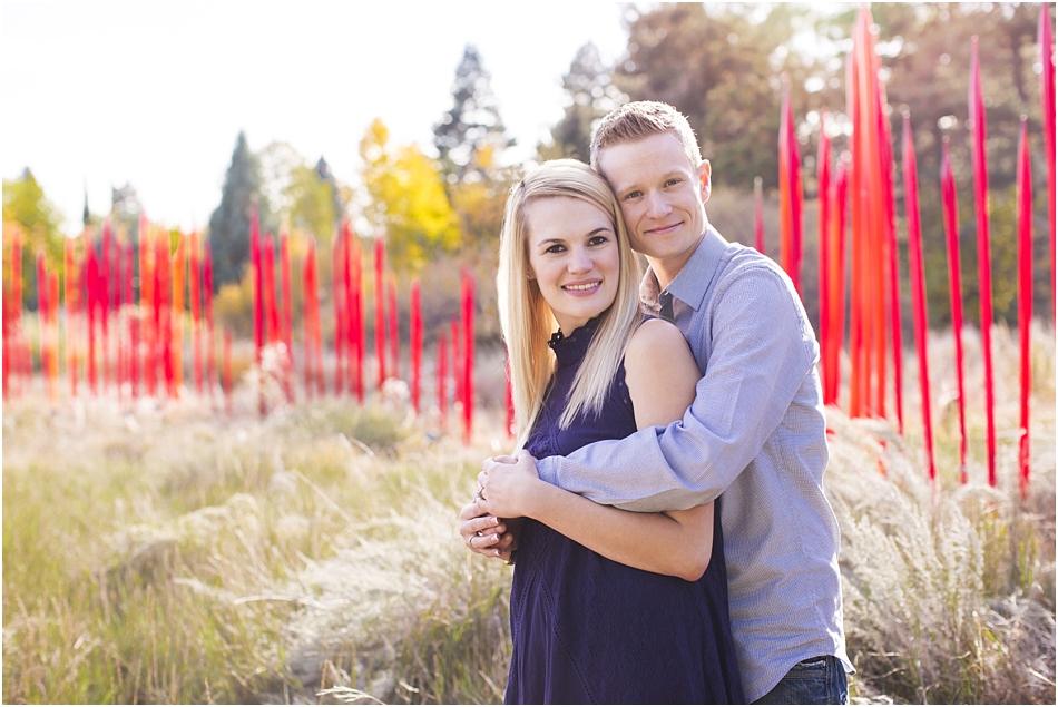 Denver Botanic Gardens | Chelsea and Kellen's Engagement Shoot_0012