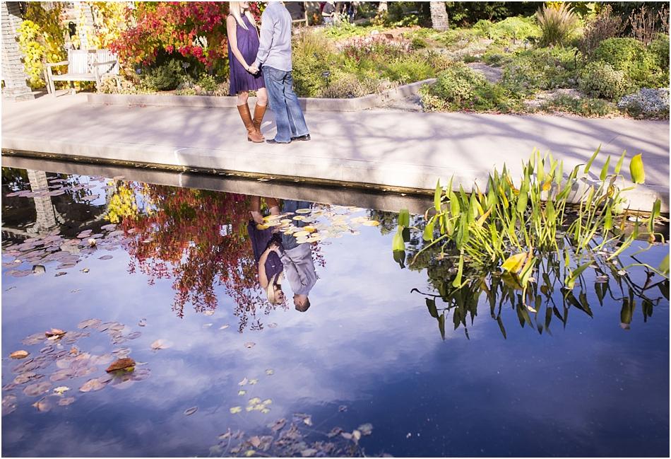 Denver Botanic Gardens | Chelsea and Kellen's Engagement Shoot_0013