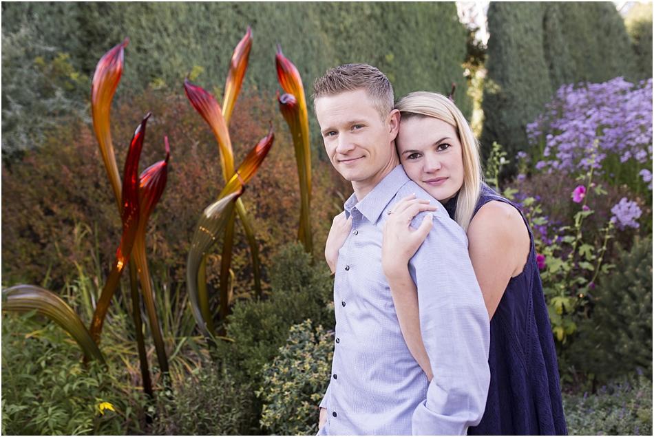 Denver Botanic Gardens | Chelsea and Kellen's Engagement Shoot_0014