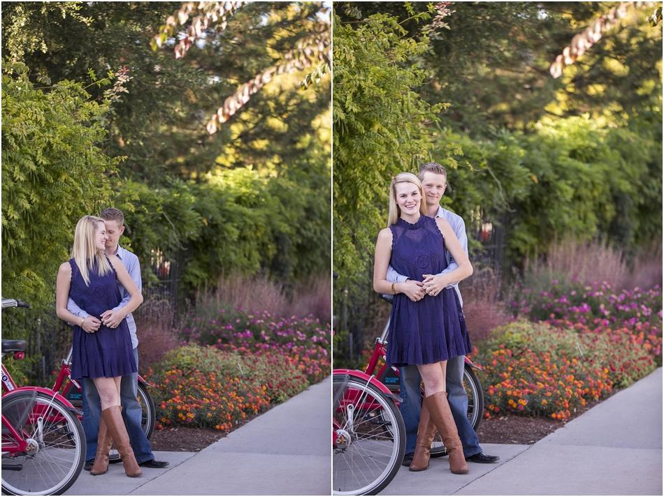 Denver Botanic Gardens | Chelsea and Kellen's Engagement Shoot_0016