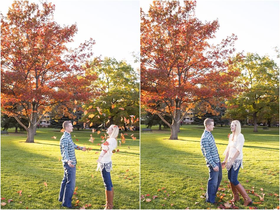 Denver Botanic Gardens | Chelsea and Kellen's Engagement Shoot_0024