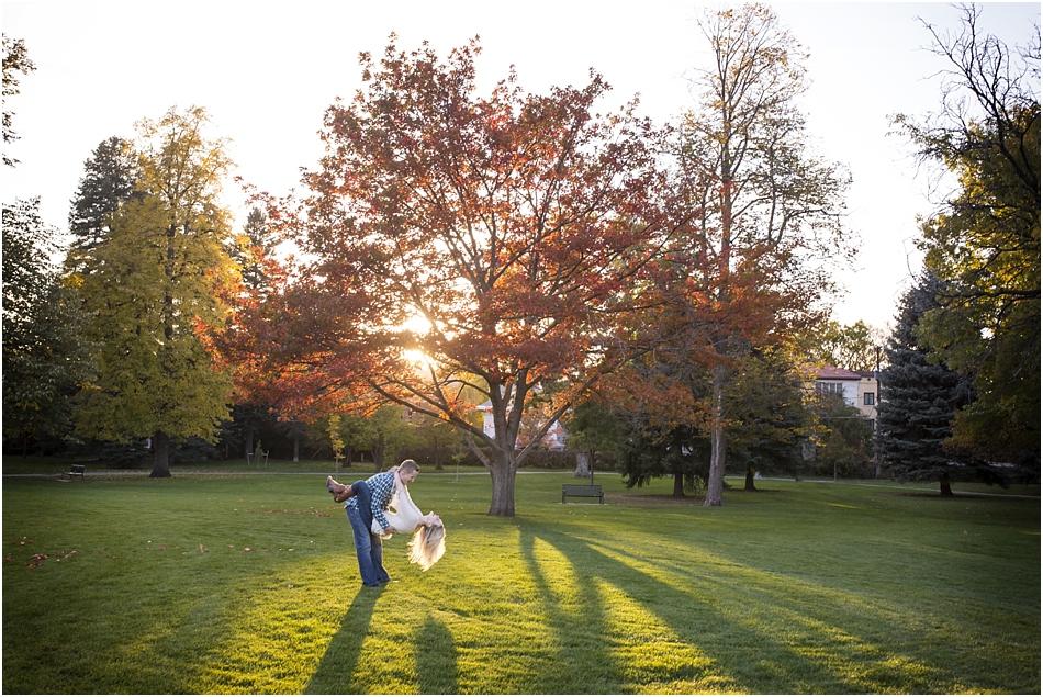 Denver Botanic Gardens | Chelsea and Kellen's Engagement Shoot_0025