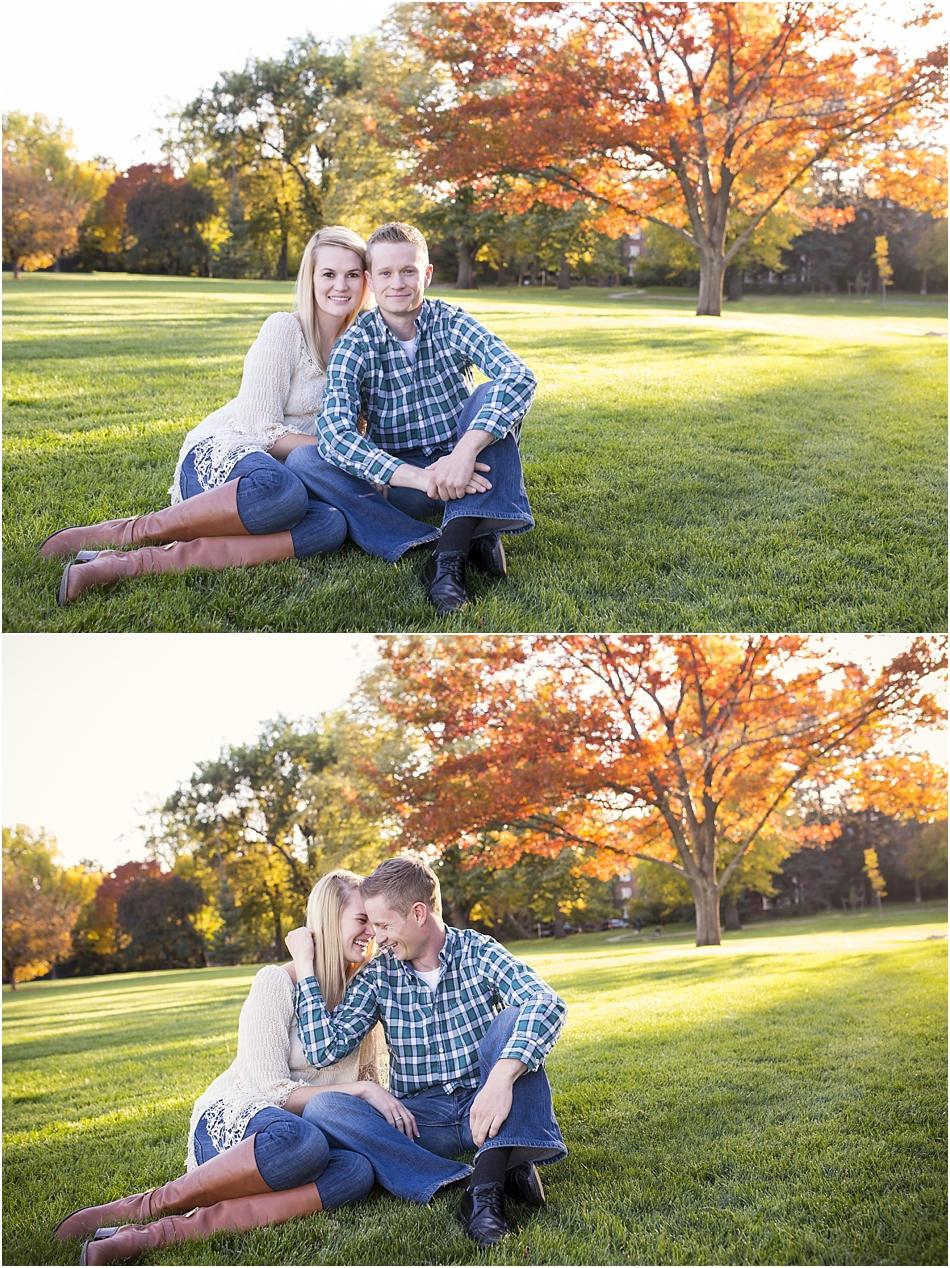 Denver Botanic Gardens | Chelsea and Kellen's Engagement Shoot_0028