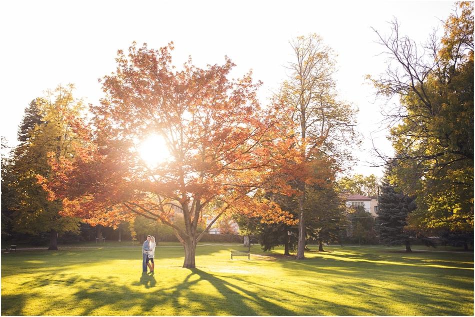 Denver Botanic Gardens | Chelsea and Kellen's Engagement Shoot_0027
