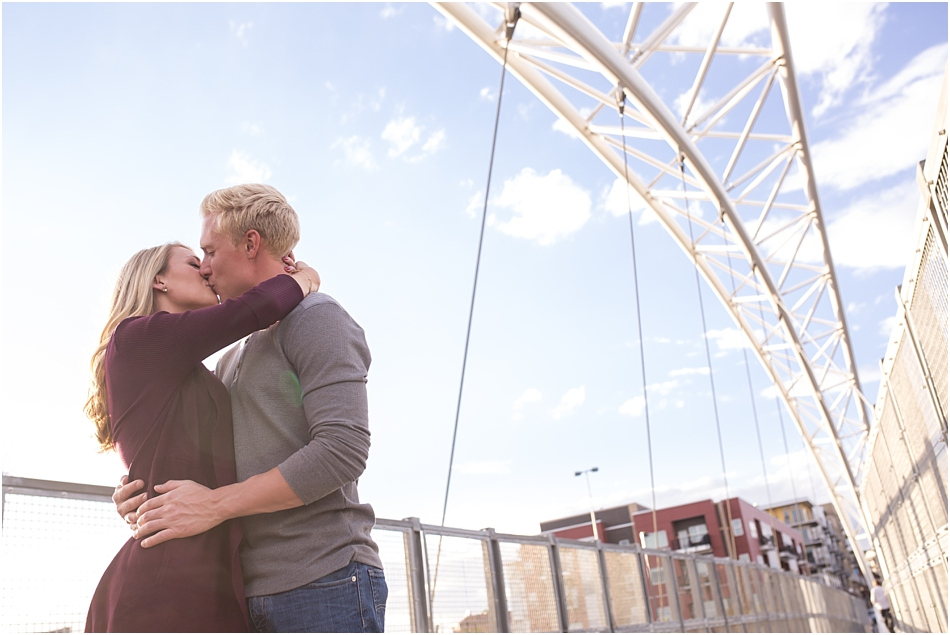 Downtown Denver Engagement Shoot, Denver Brewing Company Engagement Shoot