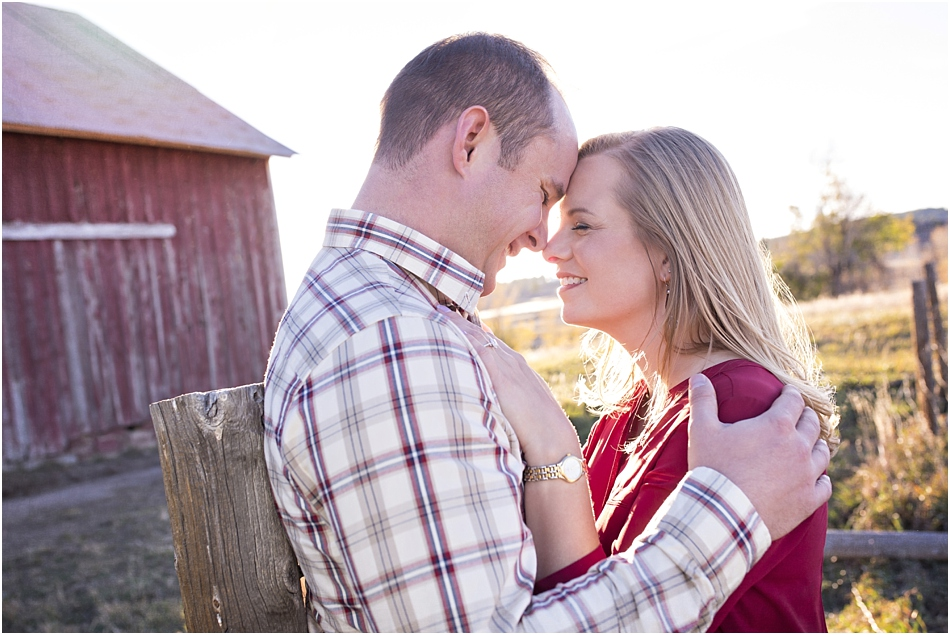 Larkspur Engagement Photographer | Brendan and Casey's Rustic Colorado Engagement Session_0008