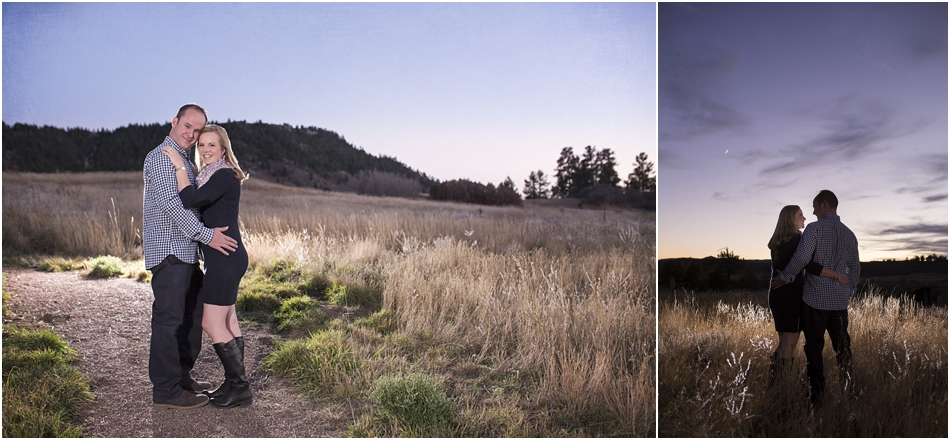 Larkspur Engagement Photographer | Brendan and Casey's Rustic Colorado Engagement Session_0013