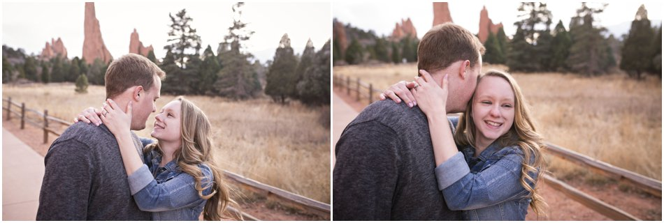 Garden of the Gods Engagement Shoot_0005