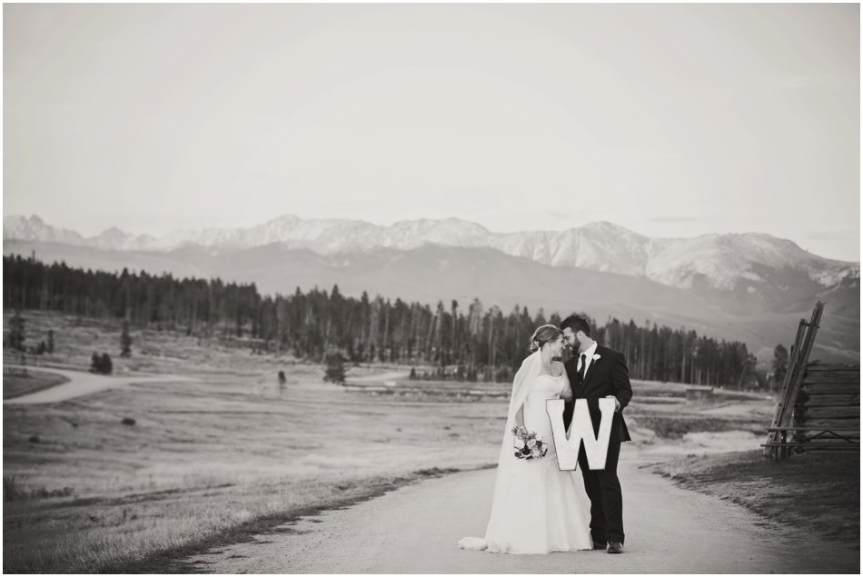 Snow Mountain Ranch Wedding Ali And Tim S Fall Snow