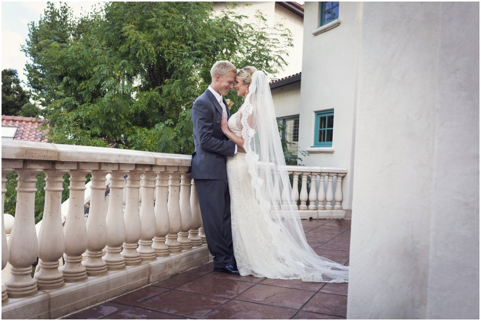 Elegant Colorado Springs Wedding | Genevieve and Landon's Colorado Springs Backyard Mansion Wedding