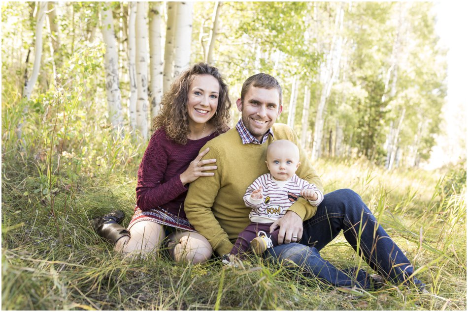 Colorado Mountain Family Photos, Family Photos in Aspens
