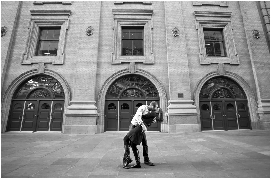 Denver Center for the Preforming Arts Engagement Shoot | Meghan and Tim'e Downtown Denver Engagement Shoot_0003