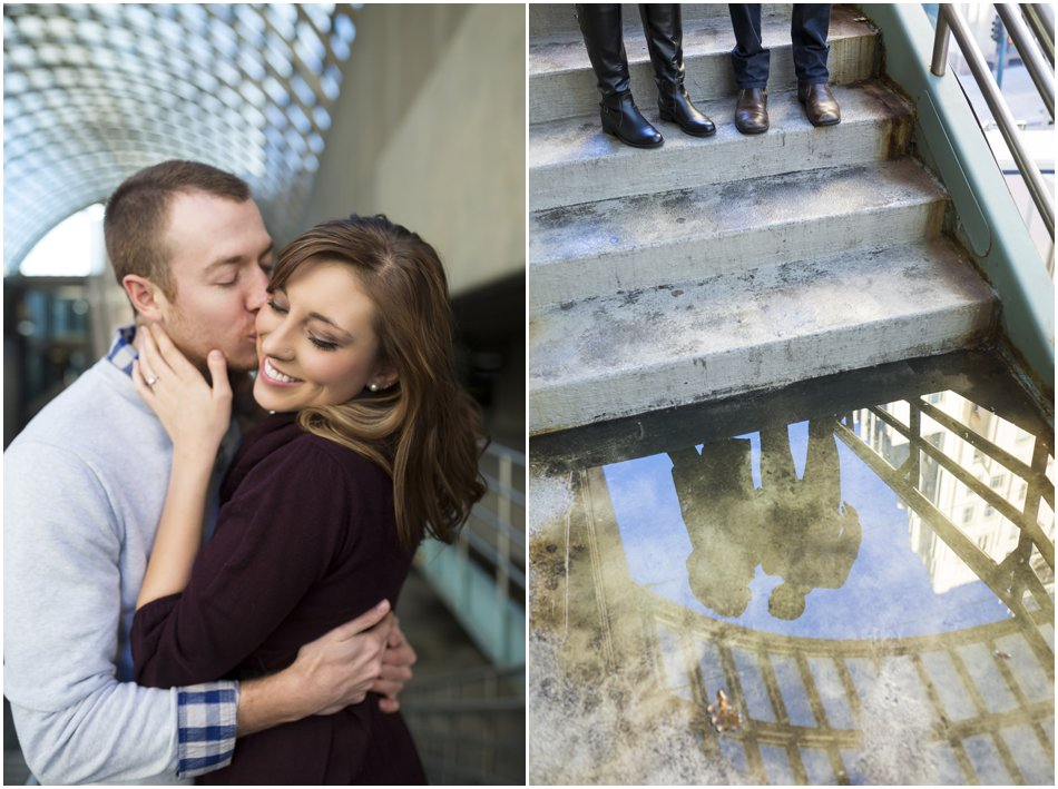 Denver Center for the Preforming Arts Engagement Shoot | Meghan and Tim'e Downtown Denver Engagement Shoot_0005