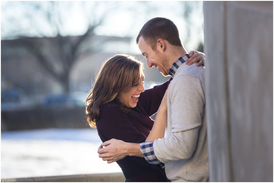 Denver Center for the Preforming Arts Engagement Shoot | Meghan and Tim'e Downtown Denver Engagement Shoot_0009
