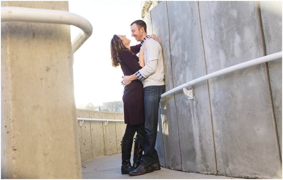 Denver Center for the Preforming Arts Engagement Shoot | Meghan and Tim'e Downtown Denver Engagement Shoot_0010