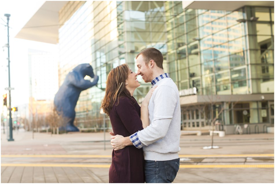 Denver Center for the Preforming Arts Engagement Shoot | Meghan and Tim'e Downtown Denver Engagement Shoot_0014
