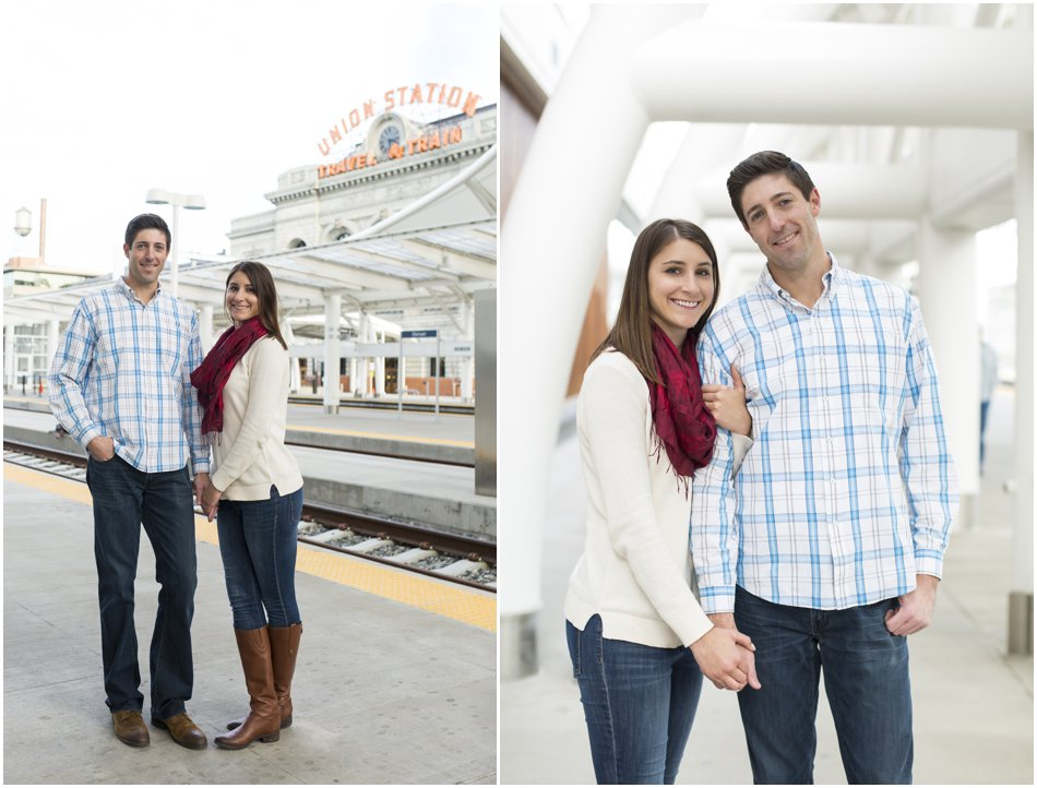 Union Station Engagement Shoot | Kolleen and Dan's Union Station Denver Engagement Shoot_0009