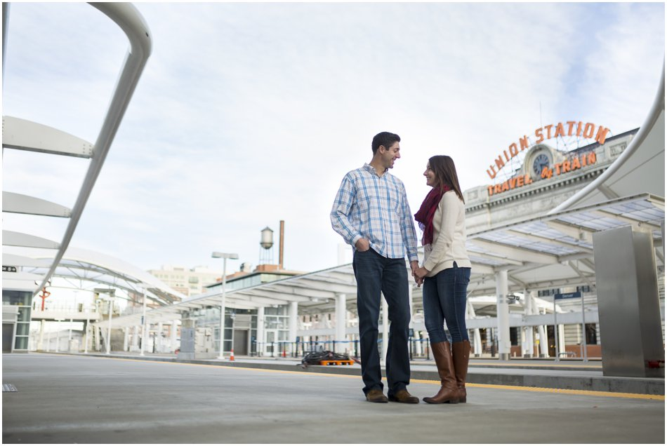 Union Station Engagement Shoot | Kolleen and Dan's Union Station Denver Engagement Shoot_0010