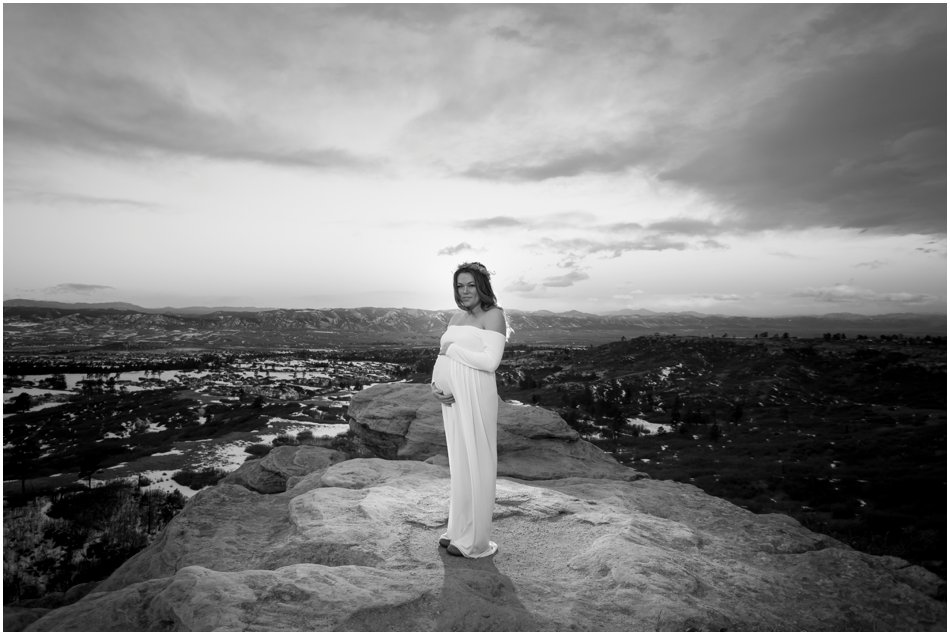 Daniels Park Sunrise Maternity Shoot | Connie and Juan's Maternity Shoot_0013