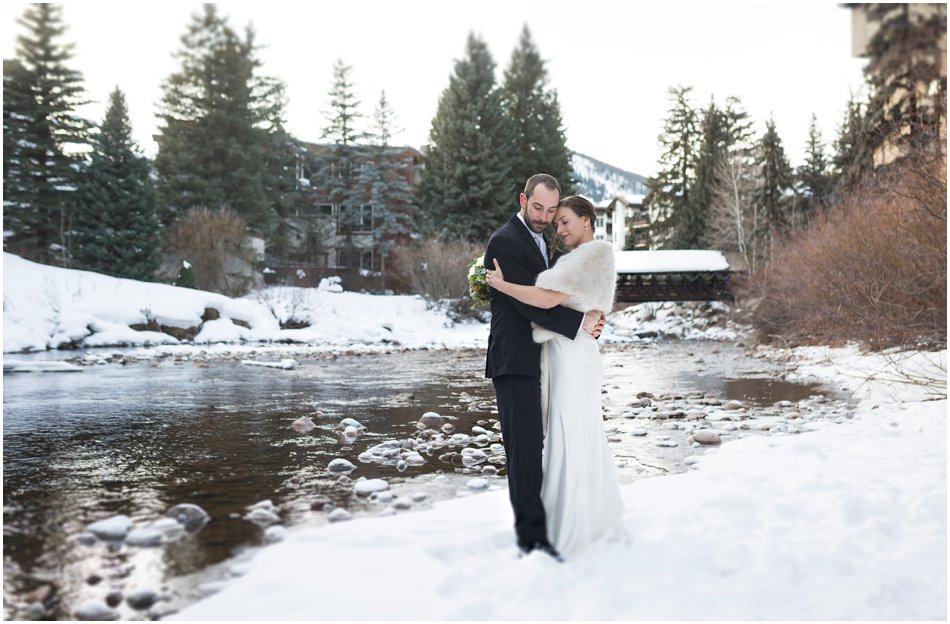 Donovan Pavilion Wedding Day| Annie and Justin's Winter Vail Wedding| Drake Busch Photography