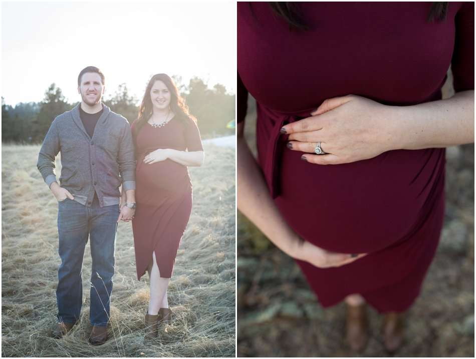 Evergreen Maternity Shoot | Tristina and Connor's Maternity Shoot_0012