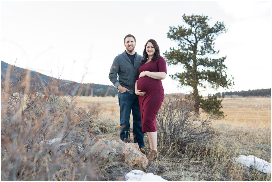Evergreen Maternity Shoot | Tristina and Connor's Maternity Shoot_0014