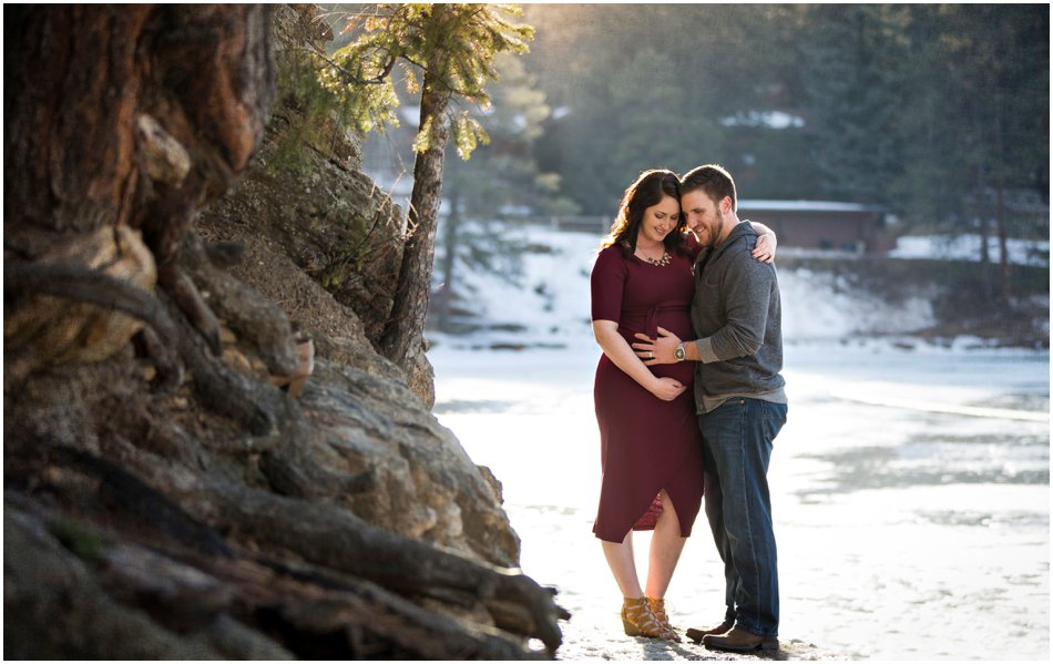 Evergreen Maternity Shoot | Tristina and Connor's Maternity Shoot_0017