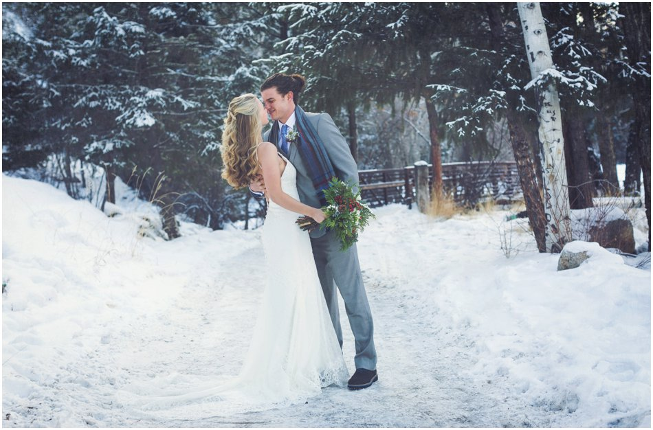Mt. Princeton Hot Springs Wedding | Michelle and Dan's Winter Colorado Wedding_0028